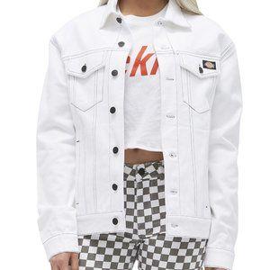 NIB Dickies Juniors' Cotton Denim Jacket